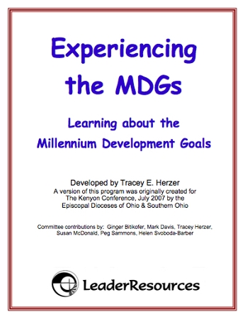 WorkshopCycles: Experiencing Millennium Development Goals